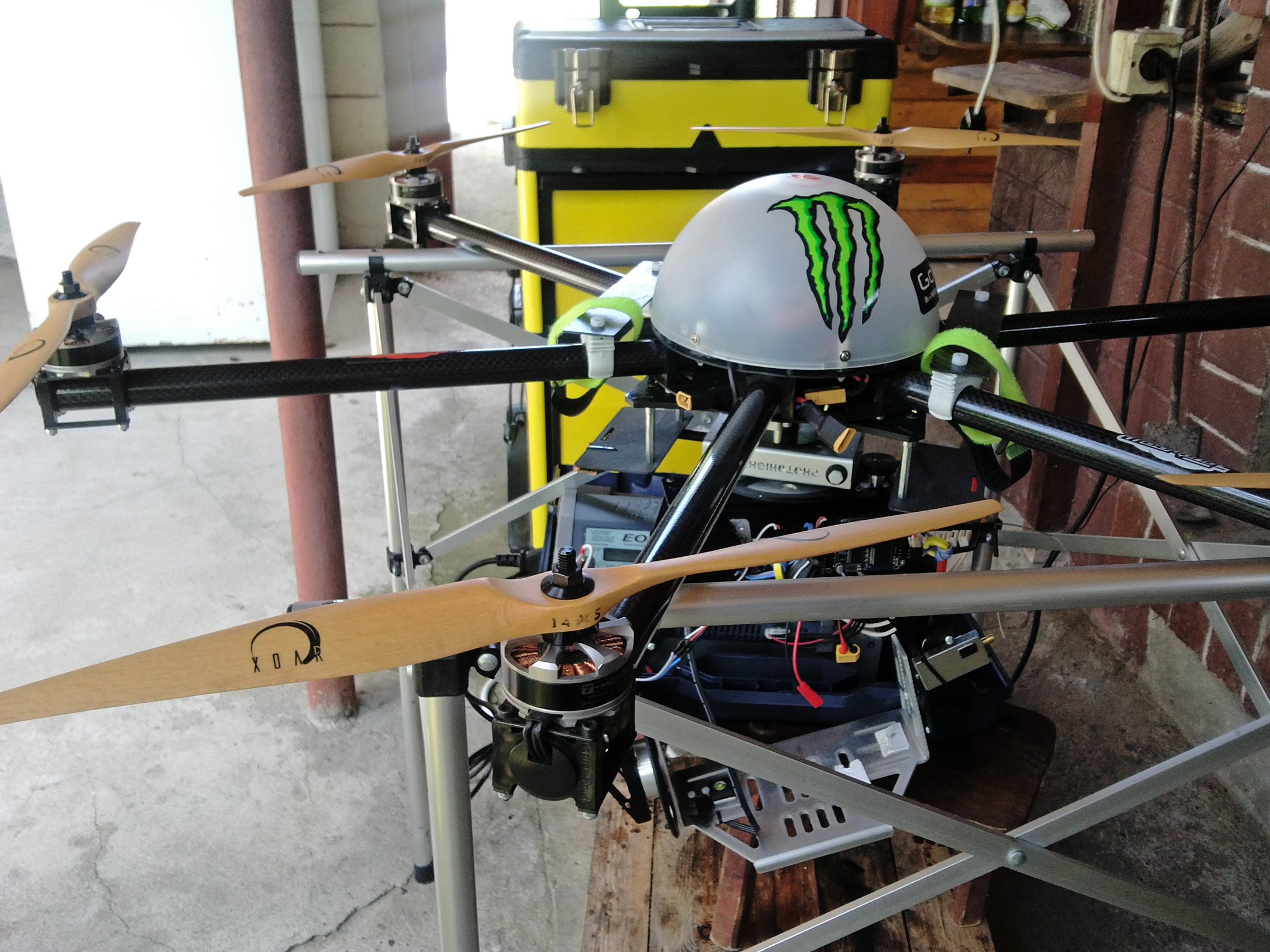 Quadvert Drone